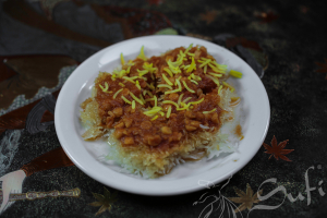 Rice Crust with GHAIMME